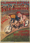 BICYCLE VELODROME BUFFALO CHALLENGE FRENCH REPRO POSTER