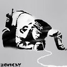 Banksy Snorting Cop stencil reusable airbrush painting art craft various sizes
