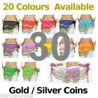 【30 Coin Belts 】 Belly Dance Hip Scarf Skirt Wholesale Bulk lot-AB01 from China