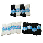 S20 MENS 6prs COTTON RICH MULTI USE SPORTS WORK GYM WORK BOOT SOCKS 6-11 COLOURS