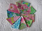 Passport Cover m/w Lilly Pulitzer fabric 10 prints