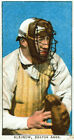 3854.Kleinow,Boston Baseball Player POSTER from early sport card.Room design