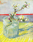 "Vincent Van Gogh- Almond Blossom Branch - 20""x26""  Art on Canvas"