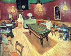 """Vincent Van Gogh- The Night Cafe on Place Lamartine in Arles- 20""""x26"""" Art Canvas"""