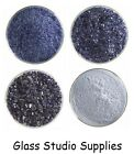 Bullseye Kiln Fusing Glass Frit - Midnight Blue Transparent (1118)