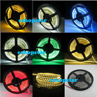 5M 3528 SMD 600 LEDs Strip Light Flex Warm Cool Pure White Red Blue Green Yellow