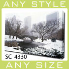 Wall Art Cityscape NYC CENTRAL PARK ON A WINTERS DAY Canvas Print
