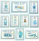 PERSONALISED Mazel Tov Jewish New Baby Boy Card 10 DESIGNS AVAIL. Q2MTB