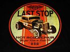 HOT ROD RAT ROD DUECE COUPE REPAIR SHOP LAST STOP T SHIRT M TO 6XL