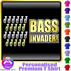 Baritone Bass Invader - Personalised Music T Shirt 5yrs - 6XL by MusicaliTee