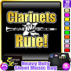 Clarinet Rule - Sheet Music & Accessories Personalised Bag by MusicaliTee