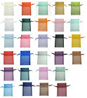 "20pcs 12x17cm 5""x7"" Premium Organza Jewellery Packing Gift Large Pouches Bags"