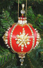 Beaded Christmas Ornament KIT - StarFlake