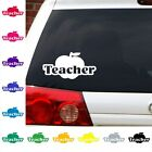 Teacher decal school car graphic free shipping many color choices student school