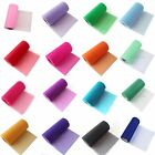 """5 Tulle Roll Spool 6""""x25YD Tutu Wedding Banquet Gift Bow Craft Decor Many Colors"""