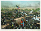 Decor War Poster.Fine Graphic Art. Fall of Petersburg. Home Wall Design. 1223