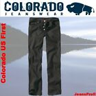Colorado US First Jeans BLACK Herrenjeans Hosen W 36 38 40 42 L 30 32 34 36 38