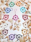 SMALL 6CM DREAMCATCHER IN VARIOUS COLOURS HELP BAD DREAMS BRAND NEW / dcny06