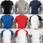 Mens Compression shorts sleeves shirts 16 styles M~2XL sports base under layer