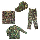 Kids Boys Soldier 95 Jacket Trousers T-Shirt Cap Dress Up Costume Outfit