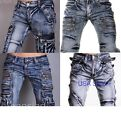 JS Italian Designer Men's Jeans Denim Over 7 styles Pants USA Seller W30-W38