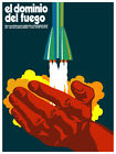 El dominio del fuego wall Decoration Poster.Graphic Art Interior design 3356