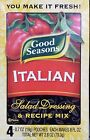 Good Seasons Salad Dressing & Recipe Mix Packets or Cruet Kit ~ Pick One