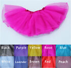Baby Kids Girls Dancewear Cute Chiffon Tutu Full Pettiskirt Princess Skirt