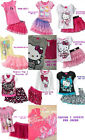 * NWT NEW GIRLS 2PC Hello Kitty SUMMER OUTFIT SET 2T 3T 4 5 6 6x
