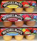 Musselman's Apple Sauce Snack Packs Applesauce Fruit Cups ~ Pick One