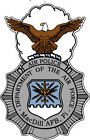 STICKER USAF Air Force Air Police Macdill