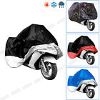XL/XXL Motorcycle Motorbike Waterproof UV Protective Breathable Cover Outdoor