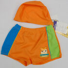NWT Kids Boys Toddlers Swimwear Swimsuit Trunks/Hamster Swim Shorts+Hat 2-5Years