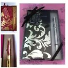 Slim Address Book & Sparkling Crystal Pen Gift Set Made With SWAROVSKI ELEMENTS