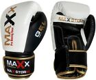 Max leather boxing punch bag fight gloves training Grappling MMA UFC PRO GEL W B