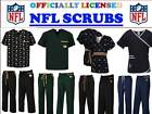 NFL SCRUB TOP-NFL SCRUB PANTS-NFL SCRUBS-ALL TEAMS-NFL FOOTBALL SCRUBS-M-N TEAMS on eBay