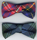 Tartan Bow Ties Various Designs UK Manufactured