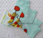 PJs ♥♥ Pooh Bear ♥♥ BABY DISNEY ♥♥ 2 PAIRS SOCKS ♥♥ Choose Size 0-24 Months NEW