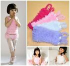 Lovely Baby Kids Girls Chiffon Ruffle Tank Top Pettitop for Pettiskirt Tutu 0-7Y