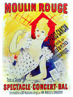 5198 Moulin Rouge French entertainment POSTER. Interior design. Decorative Art