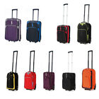 "5 Cities 18"" Ryanair Cabin Carry-on Wheeled Hand Luggage Suitcase Trolley Bags"