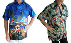 LOUD HAWAIIAN SHIRT WITH PARROTS/ HIBISCUS, STAG NIGHT, HOLIDAY PARTY NEW