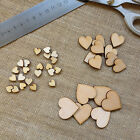 Baby wooden love hearts ideal for cardmaking scrapbooking embellishment art work