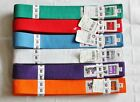 Matsuru Rucanor 220cm, 260cm & 280cm Judo Martial Arts Belt - 6 Colours -  NEW