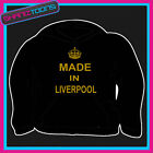 KEEP CALM MADE IN LIVERPOOL HOODY HOODIE ALL SIZES & COLOURS
