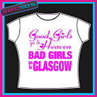 GLASGOW GIRLS HOLIDAY HEN PARTY PRINTED TSHIRT