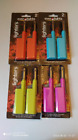 2 Gas Lighters~Refillable~Oven~BBQ~Cooker~Camping~Fire~Candle~T Lights~Lockable
