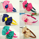Wholesale Lot 3 PC Girls Baby Cute Dot Bow FLOWER Hair Top HEADBANDS