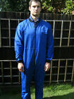 BOILERSUIT - ZIP FRONT - BLUE,  RED or GREEN - BS19