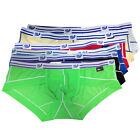 HOT NEW Sexy Mens Comfort Underwear Shorts Briefs Tanga Low Brief Rise in 6colrs
